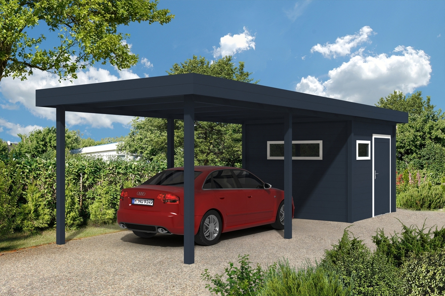 aluminium carport mit abstellraum my blog. Black Bedroom Furniture Sets. Home Design Ideas